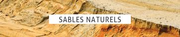 sable naturels